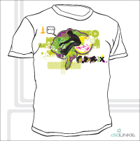 Airjunkie - On The Brain T-Shirt