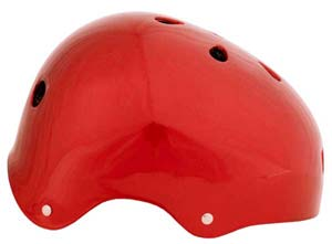 Metallic Red Helmet