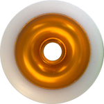 Eagle Sport Gold White Wheel - 100mm ONE LEFT