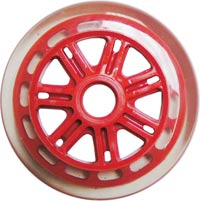 JD Bug Scooter 120mm / 88A Wheel - Red