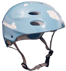 Kryptonics Light Blue Helmet