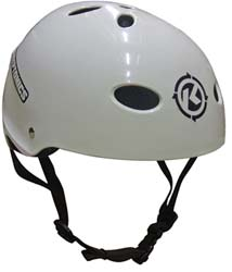 Kryptonics White Helmet