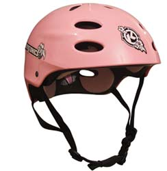 Kryptonics Pink Helmet